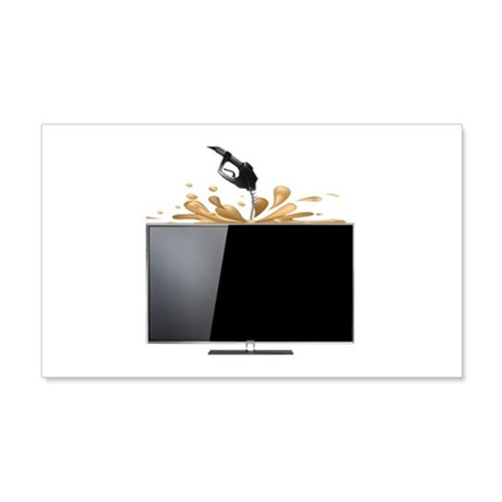 Fuelling your Desktop! Wall Decal