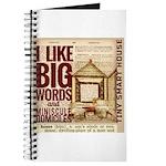 Dictionary Diary Tiny House Nerdy Journal