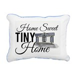 Home Sweet Tiny Home Rectangular Canvas Pillow