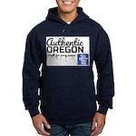 Authentic Oregon Built Hoodie (dark) Sweatshirt