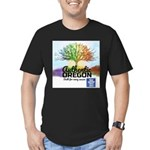 Authentic Oregon Men's Fitted T-Shirt (dark)