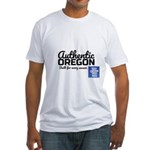 Authentic Oregon Fitted T-Shirt