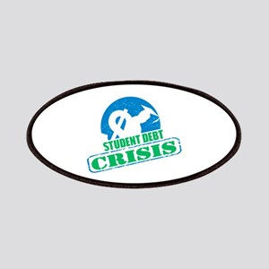 Student Debt Crisis Logo Patches