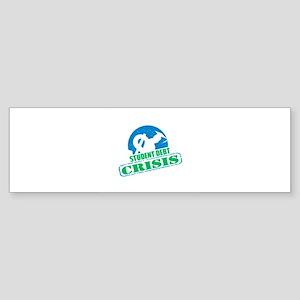 Student Debt Crisis Logo Bumper Sticker