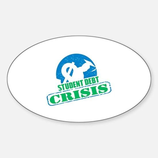 Student Debt Crisis Logo Decal