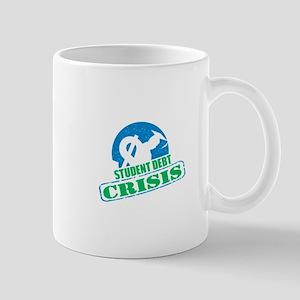 Student Debt Crisis Logo Mug