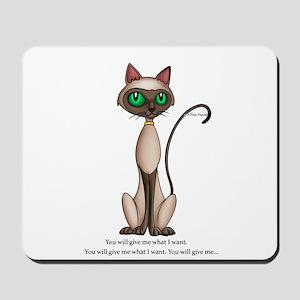 What I want Mousepad