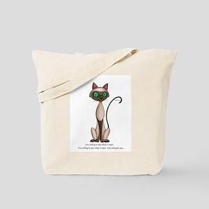 What I want Tote Bag