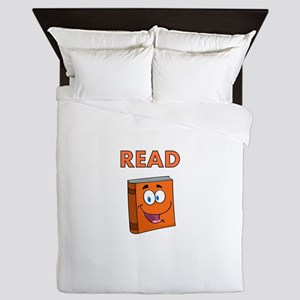 READ 2 Queen Duvet