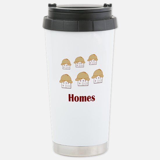 Homes? Holmes! Stainless Steel Travel Mug