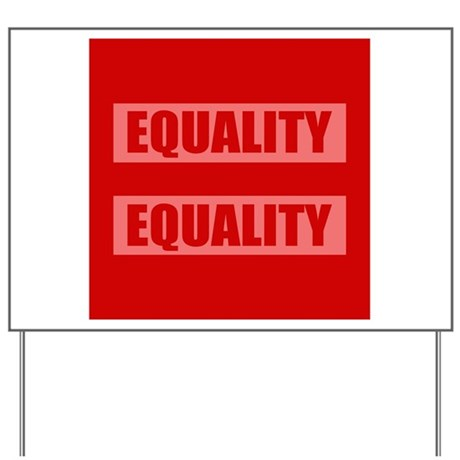 Marriage Equality Equal Sign Yard Sign