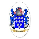 Blumrosen Sticker (Oval)