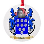 Blumke Round Ornament
