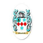 Blumfield Oval Car Magnet