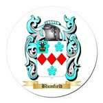 Blumfield Round Car Magnet