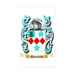 Blumfield Sticker (Rectangle 50 pk)