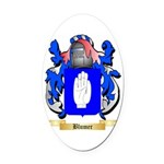 Blumer Oval Car Magnet