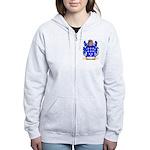Blumenzweig Women's Zip Hoodie