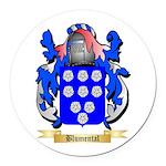 Blumental Round Car Magnet