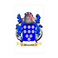 Blumental Sticker (Rectangle 50 pk)