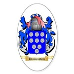Blumenstein Sticker (Oval 50 pk)