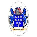 Blumenkranc Sticker (Oval 10 pk)