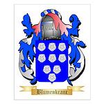 Blumenkranc Small Poster