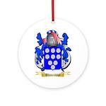 Blumenkopf Ornament (Round)