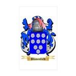 Blumenfield Sticker (Rectangle 50 pk)