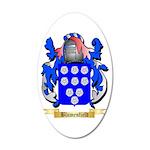 Blumenfield 20x12 Oval Wall Decal