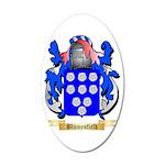 Blumenfield 35x21 Oval Wall Decal