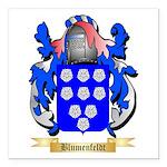Blumenfeldt Square Car Magnet 3