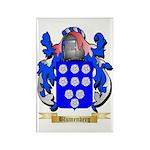 Blumenberg Rectangle Magnet (100 pack)