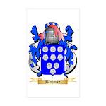 Bluhmke Sticker (Rectangle 50 pk)
