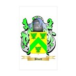 Bluett Sticker (Rectangle 50 pk)