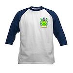 Blue Kids Baseball Jersey