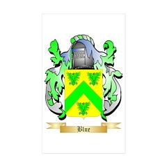 Blue Sticker (Rectangle 10 pk)