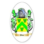 Blue Sticker (Oval 10 pk)