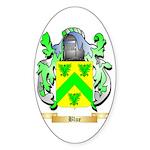 Blue Sticker (Oval 50 pk)