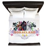 Horseland King Duvet