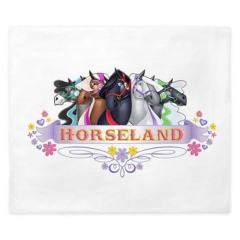 Horseland King Duvet