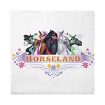 Horseland Queen Duvet