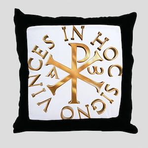 Chi-Rho Throw Pillow