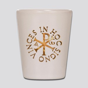 Chi-Rho Shot Glass