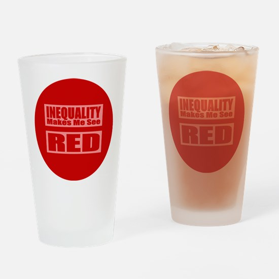 Marriage Equality Equal Sign Drinking Glass