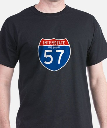 Interstate 57 - MO T-Shirt
