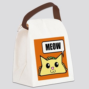 Taco Cat Meow OBG Canvas Lunch Bag
