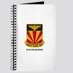 1st BN 56th Air Defense with Text Journal