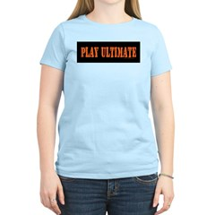 PLAY ULTIMATE Women's Pink T-Shirt