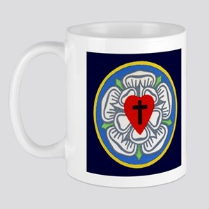 Luther's Seal and Explanation Mug (navy)